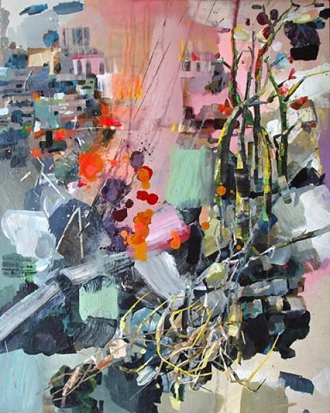 Dena Schuckit - Pink Landscape (2009)
