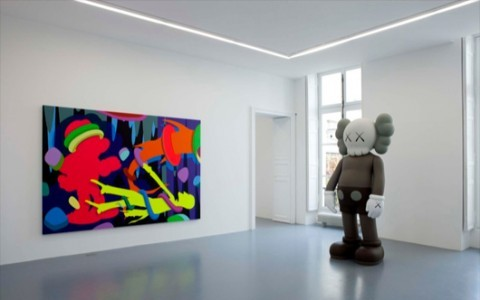 KAWS - Pay the Debt to Nature @ Galerie Perrotin